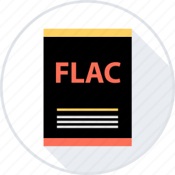 document, file, flac icon