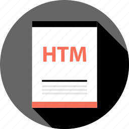 document, file, htm icon