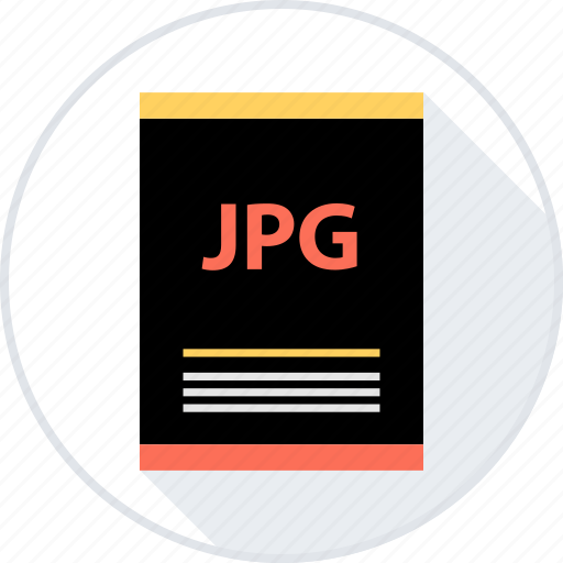 document, file, jpg icon