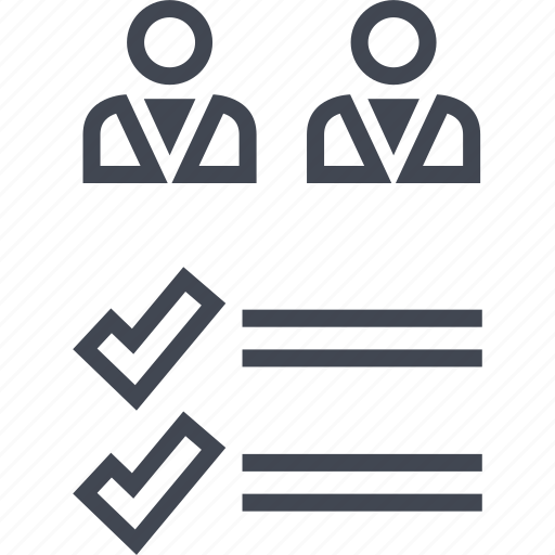 analytics, data, two, users icon