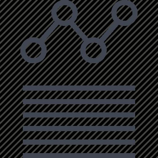 data, graphic, internet icon