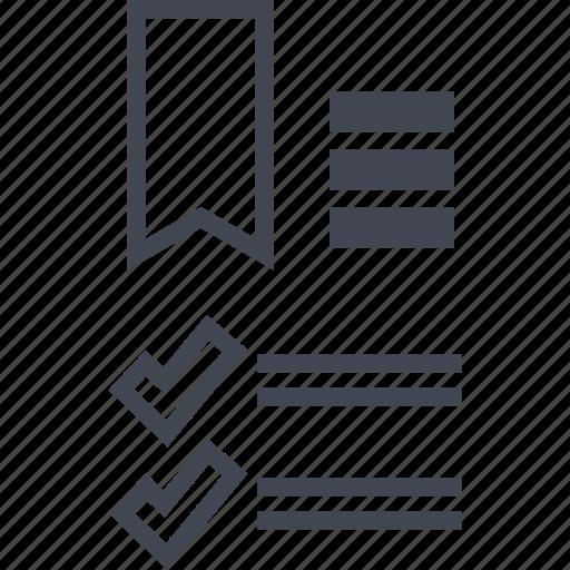 analytics, checkmarks, seo icon