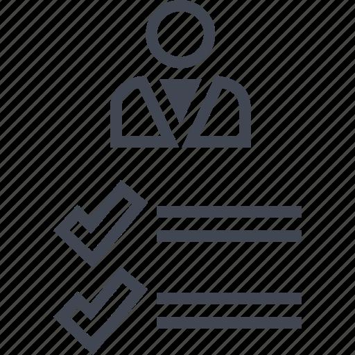 analytics, boss, user, web icon