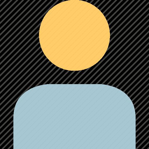 online, person, profile, user icon