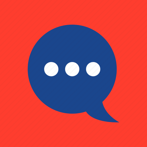 bubble, chat, speak, talk icon