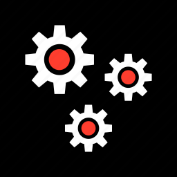 gears, more, options, setup icon