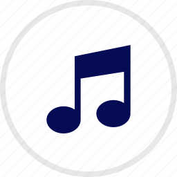 music, note, sing, sound icon