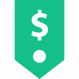 dollar, money, price, sign, tag icon