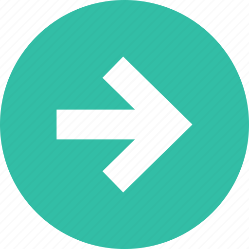 arrow, forward, go, next, ok icon