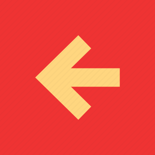 arrow, back, exit, left, point icon