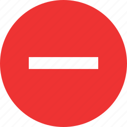 menu, navigaiton, negative, setup, sign, subtract icon