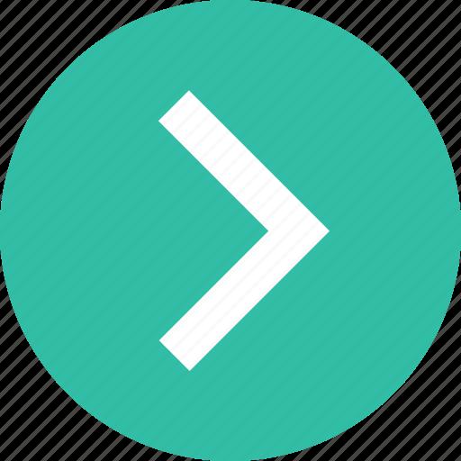 arrow, forward, go, next icon