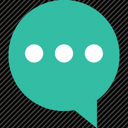 bubble, chat, conversatoin, talk icon