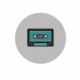 cassette, cd, music, record, song icon