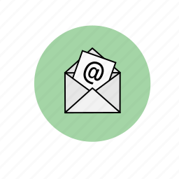 communication, email, letter, post icon