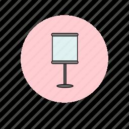chart, flipchart, meeting, presentation icon