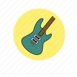 electric guitar, guitar, hipster, indie, music, rock icon