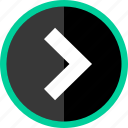 arrow, direction, point, pointer icon