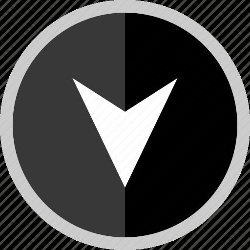 arrow, direction, point, pointer icon