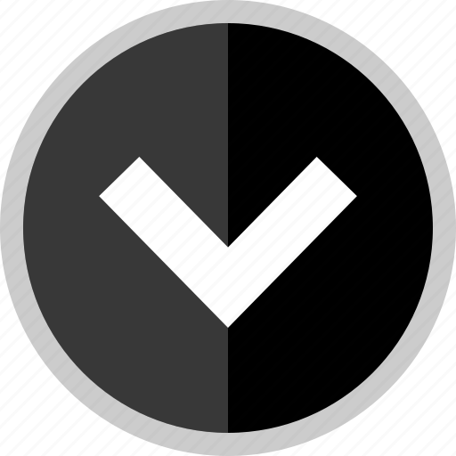 arrow, direction, downloading, point, pointer icon