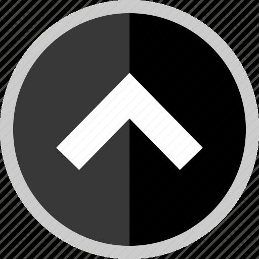 arrow, direction, point, pointer, uploading icon