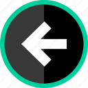 arrow, direction, exit, point, pointer icon