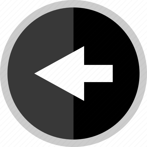 arrow, direction, exiting, point, pointer icon