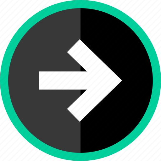 arrow, direction, go, point, pointer icon