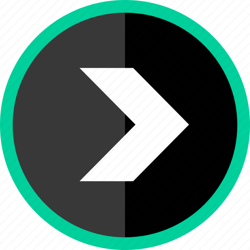 arrow, direction, go, point, pointer, right icon