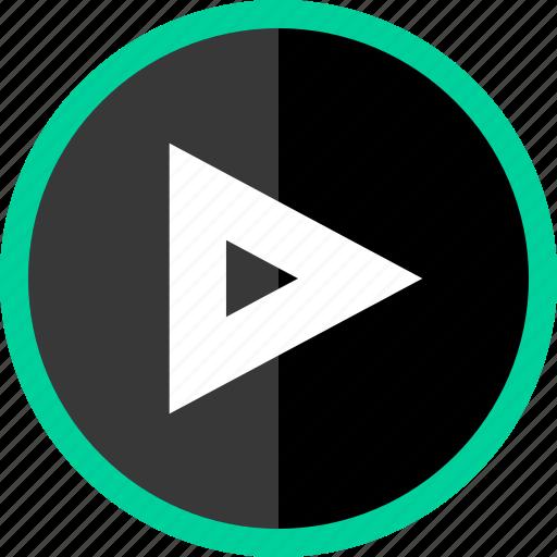 arrow, direction, point, pointer, right, tirangle icon