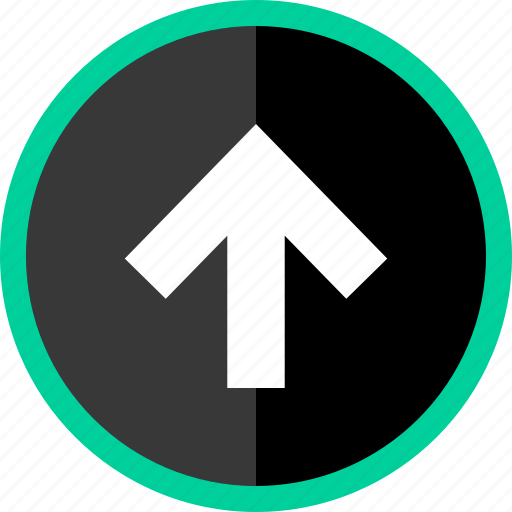 arrow, direction, point, pointer, upload icon