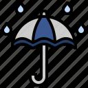 protection, rain, rainy, tools, umbrella, utensils, weather
