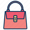 bag, case, ladies bag, leather, purse, woman, woman bag icon