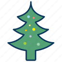 christmas, christmas tree, merry christmas, tree icon
