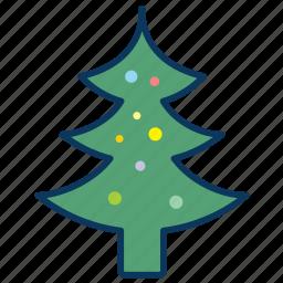 christmas, christmas tree, merry christmas, tree icon