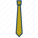 business, celebration, ceremoniously, solemnly, tie icon