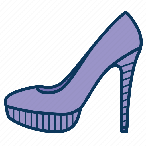 heels, shoe, shoes, woman's shoe, woman's shoes icon