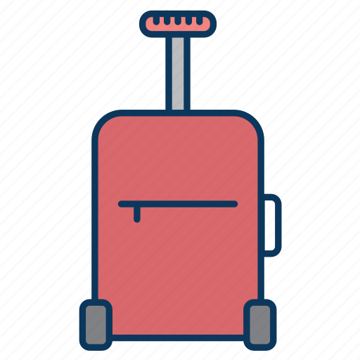 bag, luggage, suitcase, tourism, tourist icon