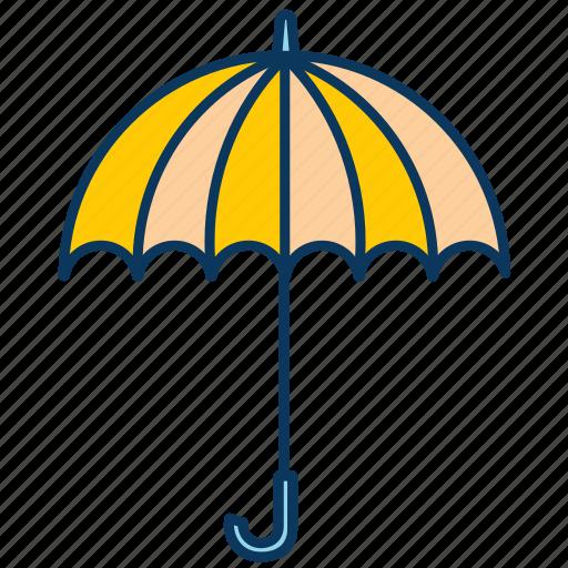 rain, rains, rainy day, snow, umbrella, weather icon