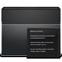 folder, terminal icon