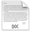doc, file, z icon