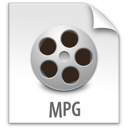 file, mpg, z icon