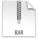 file, rar, z icon