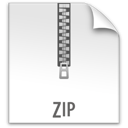 file, z, zip icon