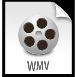 file, wmv, z icon