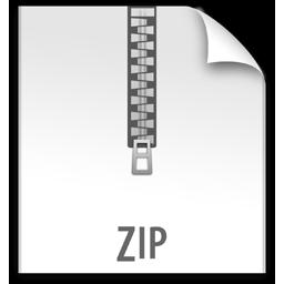 file, z, zip icon