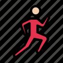 athlete, exercise, fitness, race, running