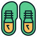 running, shoes, sneaker, tennis, training icon