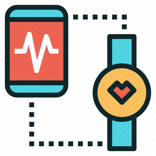 device, mornitor, phone, smart, watch icon