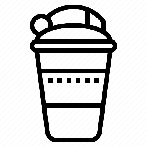Bottle, shaker, drink, energy, protein icon